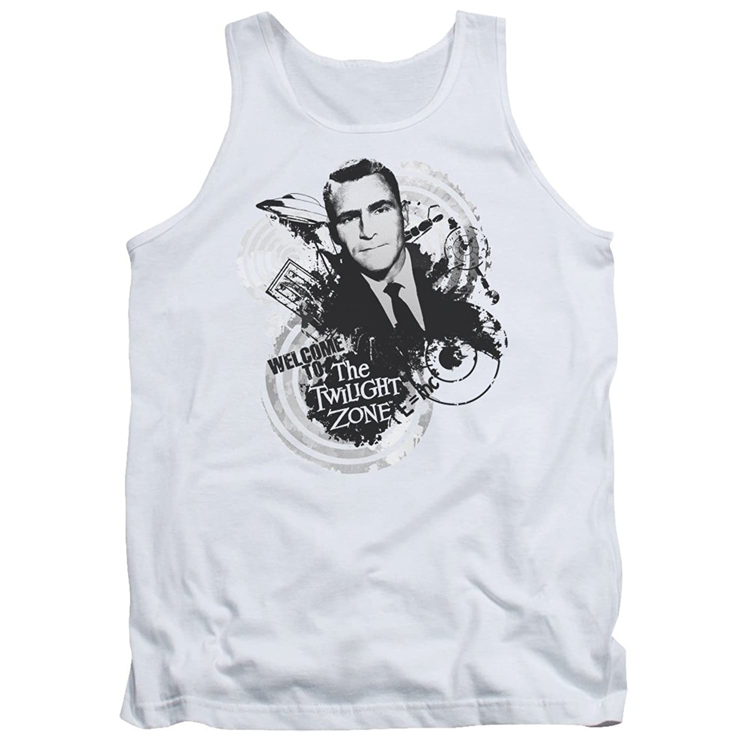Twilight Zone TV Series CBS Welcome To Adult Tank Top Shirt