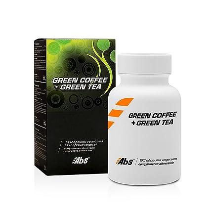 Abs Café Verde Svetol y Té Verde 400 mg - 60 Cápsulas: Amazon.es ...