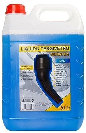 Fluido para Limpiaparabrisas -10 GRUNTEK comiencen con la Mantenimiento vertedor tapón automático