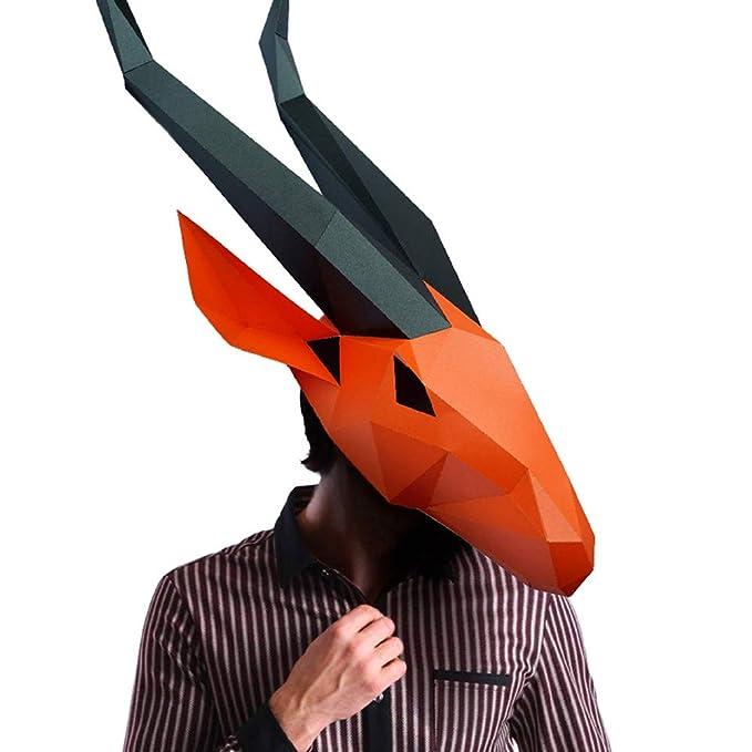 Halloween Masker.Amazon Com Animal 3d Mask Series 2 Party Halloween Helmet