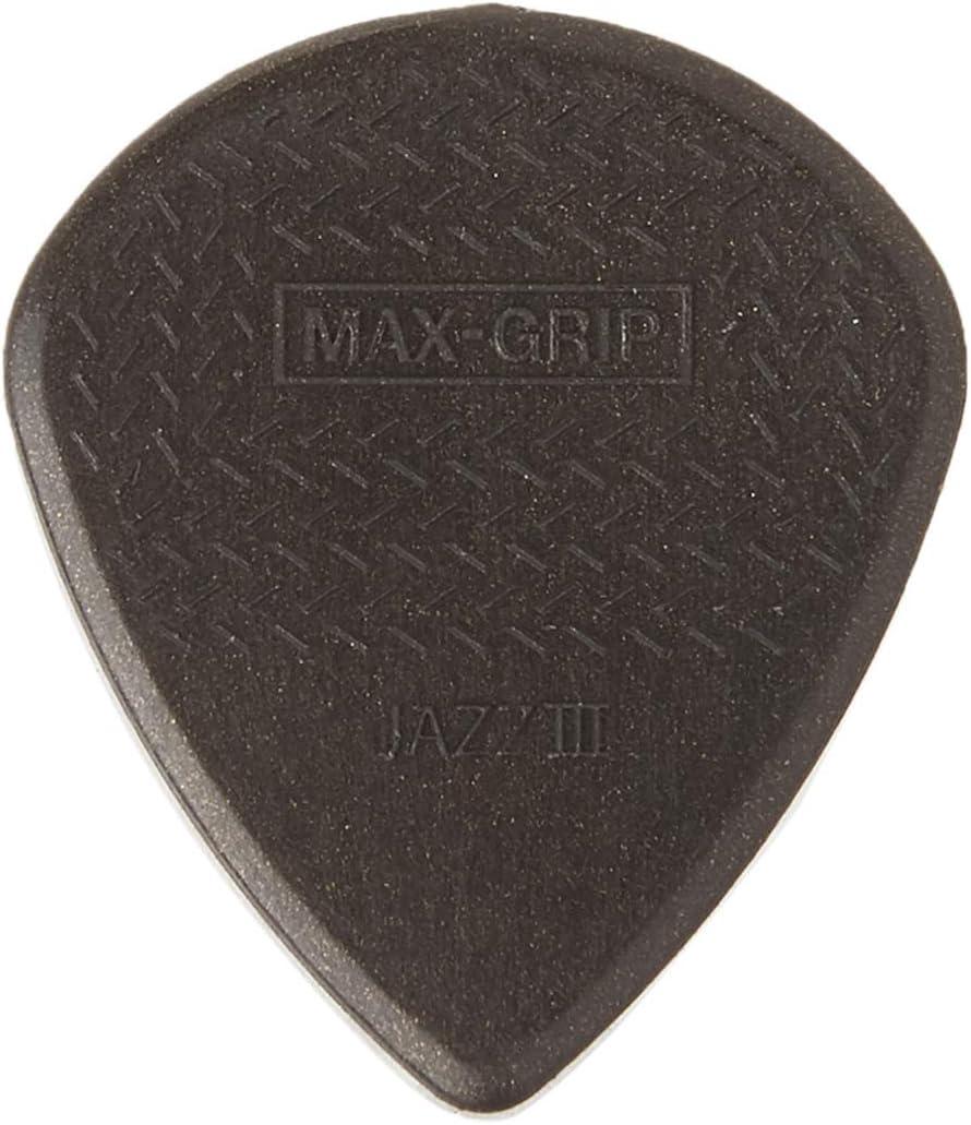 Jim Dunlop 471p3 C jzz-6 Nylon Max reproductor de agarre Púa De ...