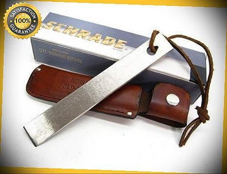 Amazon.com: Old Timer - Afilador de cuchillo afilado con ...