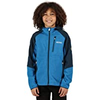 Regatta Lostock Coolweave Jacket with Extol Warm Backed Knitted Stretch Fabric Forro Polar, Unisex niños