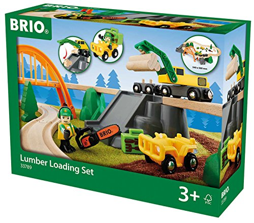 33789 BRIO Lumber Loading Set by Brio