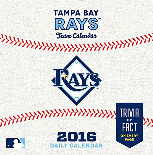 Turner Tampa Bay Rays 2016 Box Calendar, January-December (8051417)