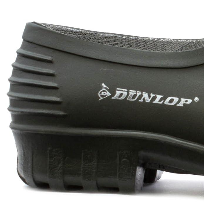 Dunlop - Zapato para la lluvia y para hacer jardinería, verde, para hombre Dunlop - Talla 6 UK / 39.5 EU - Verde