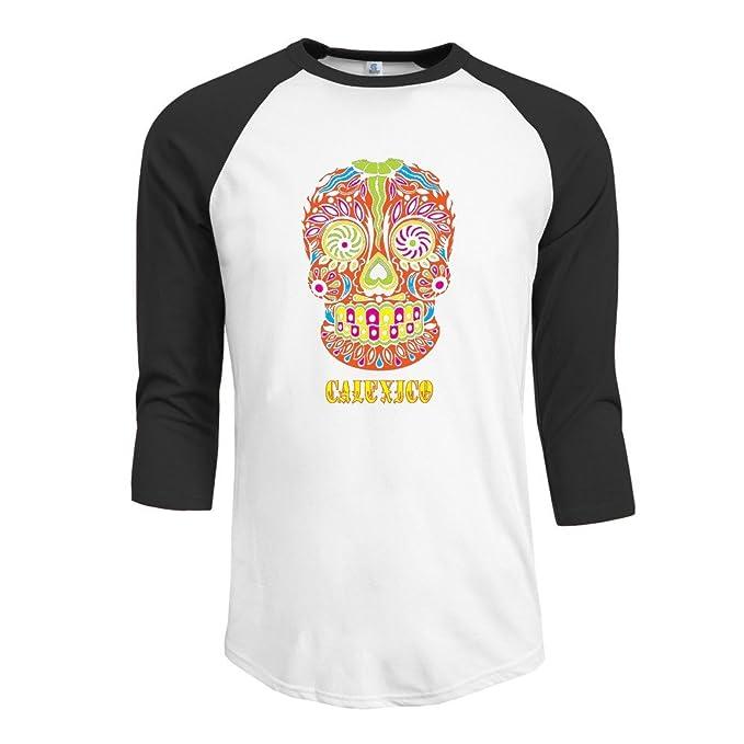 Hombre calexico 3/4 Sleevecamiseta camisetas: Amazon.es: Ropa y accesorios