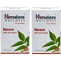 Himalaya Wellness Neem Skin Wellness Tablets (60 Tablet) Pack of 2