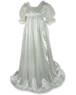f19c214bdb30 Amazon.com: 1791's lady Regency Ball Dress Jane Austen Gown ...