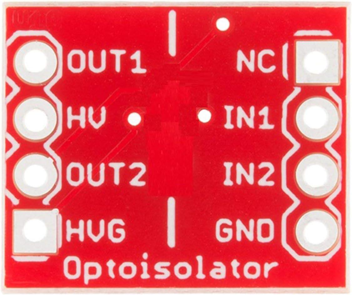 Liobaba D213 Opto-Isolator Breakout Board Module ILD213T Optoisolator Microcontroller