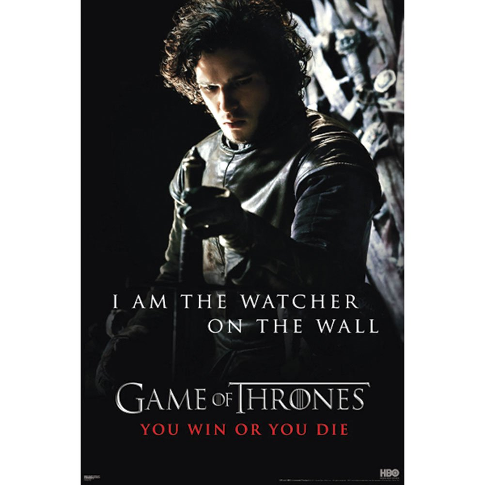 Pyramid Game of Thrones Watcher Wall Poster