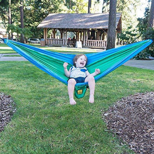 Wise Owl Outfitters Kids Hammock for Camping The Owlet Kid Child Toddler or Gear Sling Hammocks – Perfect Small Size for…