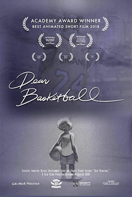 Amazon.com: BrookWindy Dear Basketball #Kobe #Bryant 2020 Movie Poster Hot Gift 646Gifts for Fan Lovers Posters No Framed: Posters & Prints