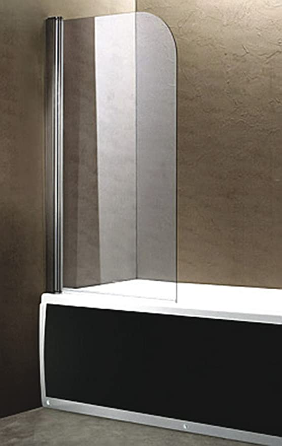 Hoja abatible bañera SV1 cromo vidrio 80 * 140 cm.: Amazon.es ...