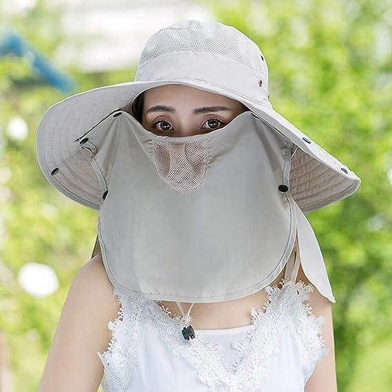 YJLGRYF Viseras Sombrero Para El Sol Sombrero De Verano Cubierta ...