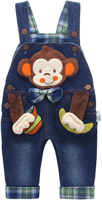Kidscool Space Contrast Color 2 Buttons Decore Toddler Classic Jeans