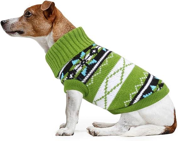 Idepet Pet Cat Dog Maglione XS, Nero Cappotto Invernale per Cani Giacca Gilet Caldo Pet Maglione Maglione Vestiti per Gattini Cuccioli Gatti e Cani