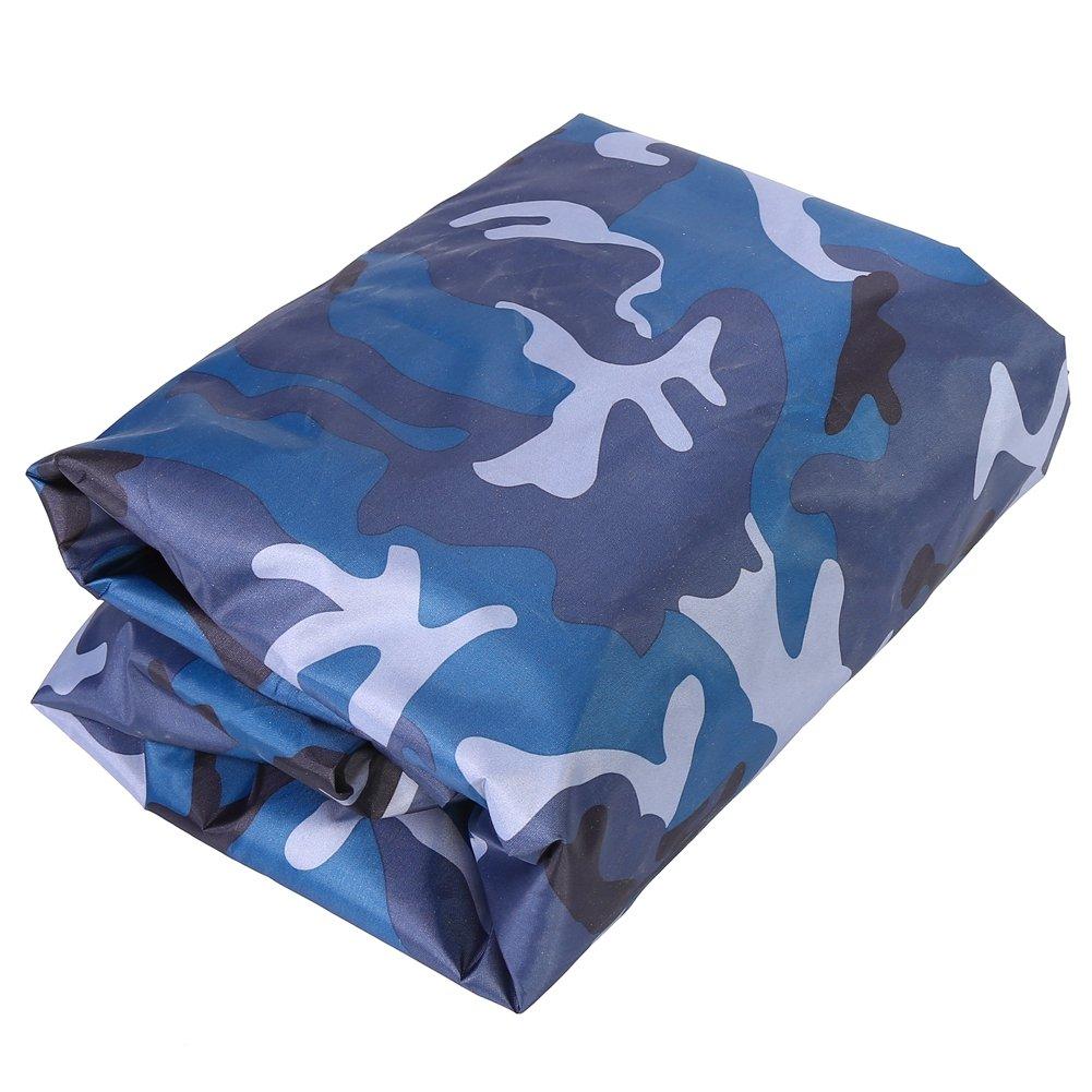Desert Camouflage Alomejor Cubierta impermeable para barco polvo de almacenamiento para canoa de kayak de 3,6 a 4 m 4,5 m de protecci/ón UV