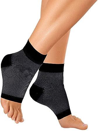 Calcetines de compresión de tobilleras, fascitis Plantar, pie mangas de compresión para tobillo/