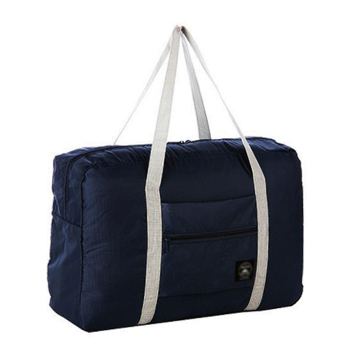 Aisa Womens & Mens Foldable Travel Waterproof Duffel Bag Large Capacity Luggage Bag Storage Shopping Bag