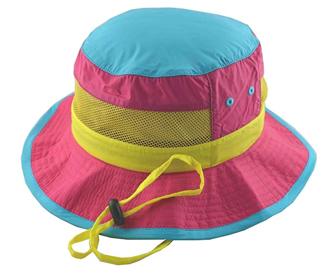 d7a056cd120 Amazon.com  Hi Dee Ho Boys Multi Colors Nylon Boonie Bucket Hat ...