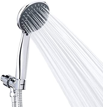 Handheld Shower Head High Pressure 5 Spray Settings Detachable