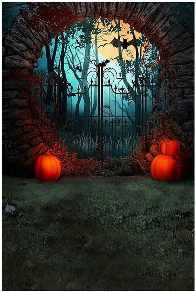 SHINEHUA Halloween Hintergrund Fotografie Hintergrund Dekoration K/ürbis Muster f/ür Baby Neugeborene Kinder Teen Adult Kamera Foto Studio