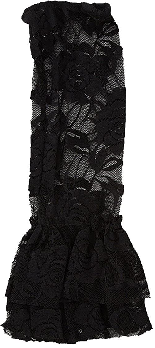 Wenchoice Black Lace Leg Warmers ONE SIZE