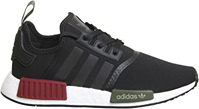 adidas NMD R1 Noir Bourgogne Olive Exclusive 10 Royaume