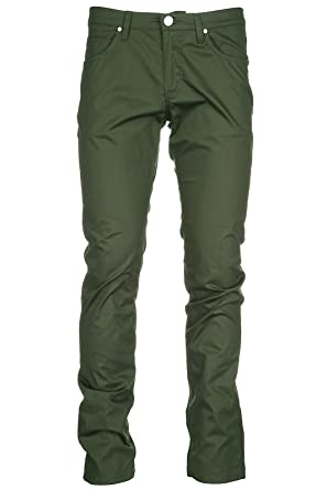 good huge inventory professional sale Versace Jeans Men's Trousers Pants Green UK Size 34 (UK 34 ...
