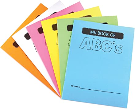 8.5x11-Inch 28 Pages 100 Pcs My Book of ABCs