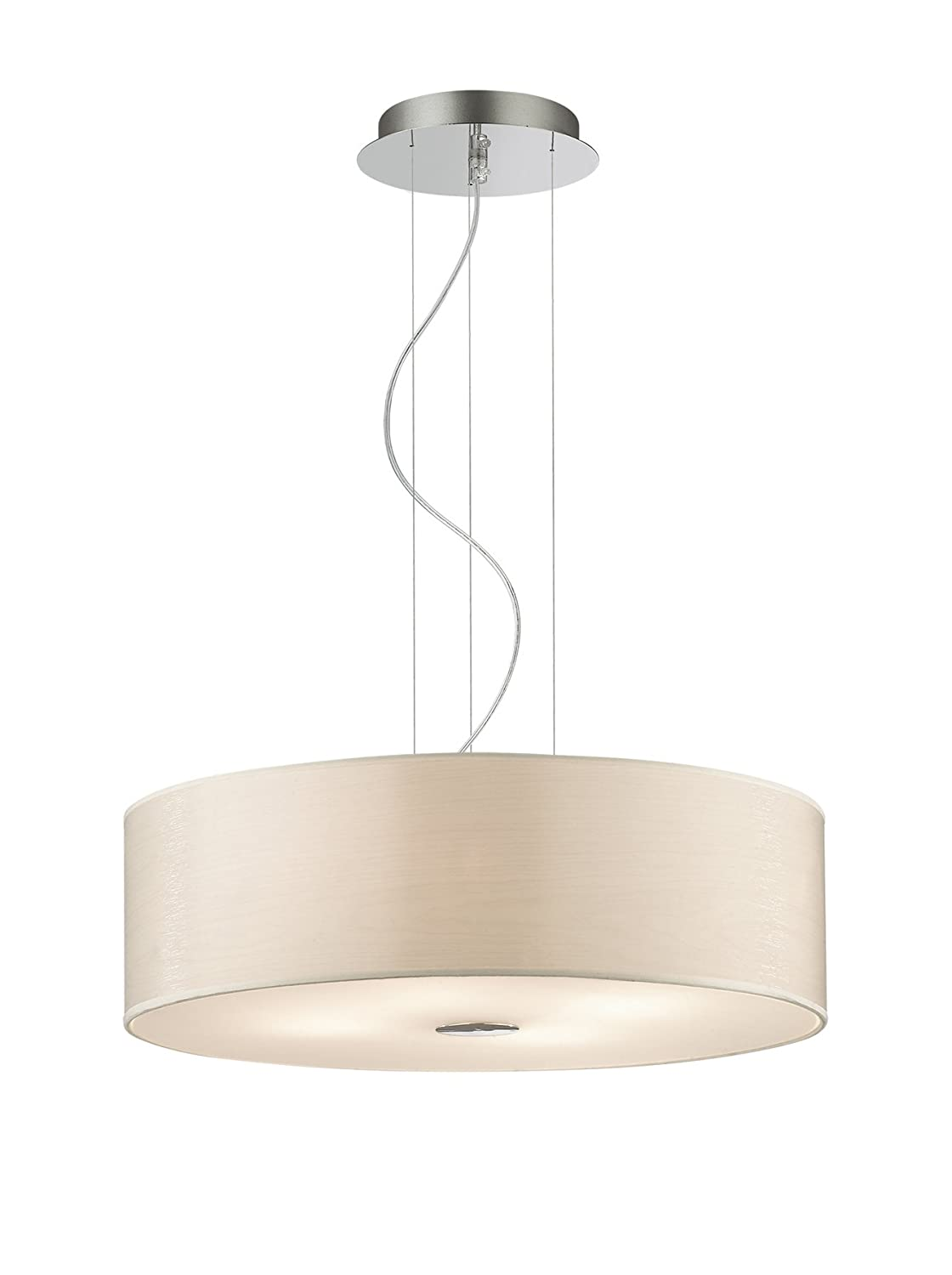 Ideal Lux Woody SP4 Lampada, Betulla: Amazon.it: Illuminazione