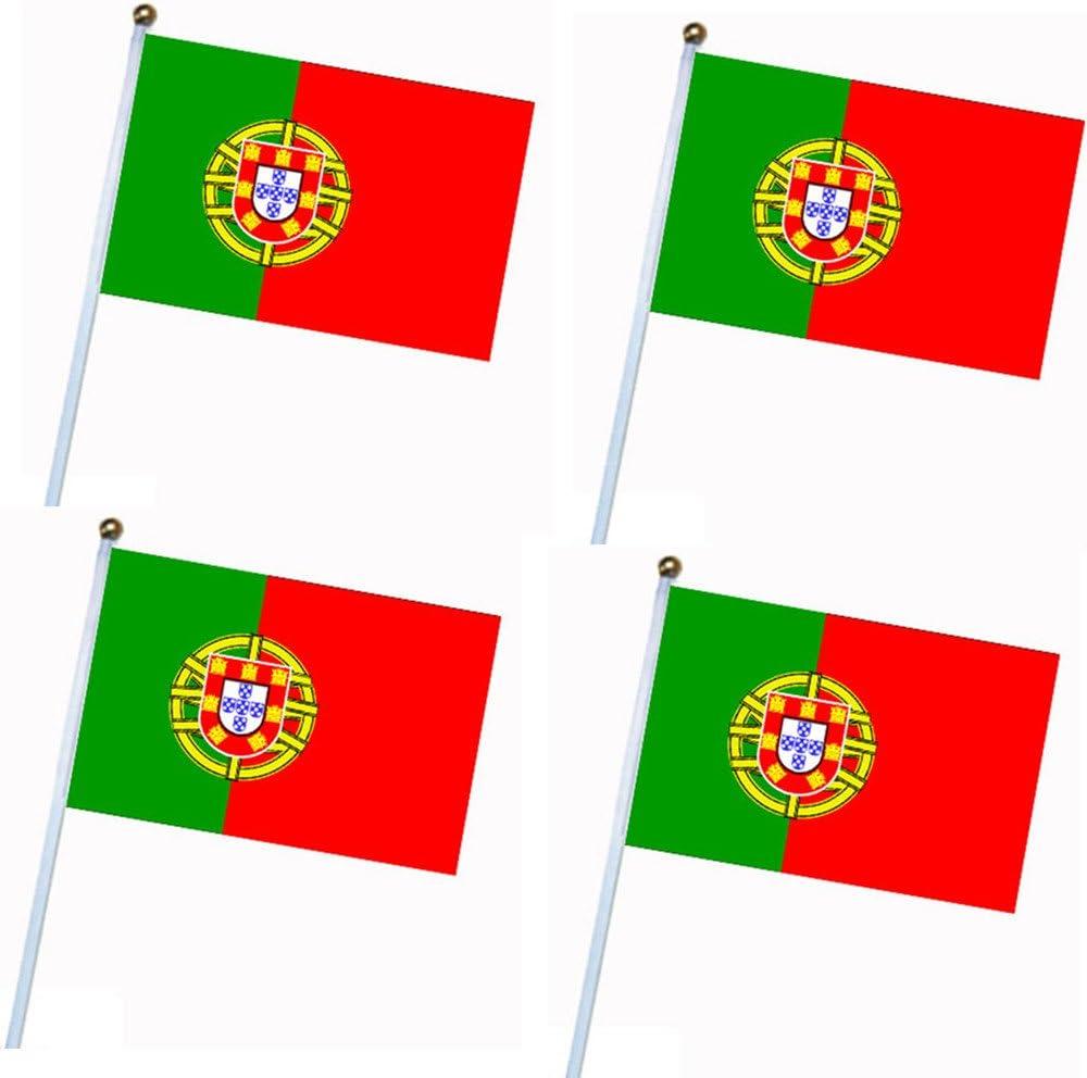 4 pcs 2018 Rusia Copa Mundial de la FIFA equipos de 32 Bandera nacional País mundo Banner Bunting para Bar Decoración de Hogar Fiesta supermercado, Portugal: Amazon.es: Deportes y aire libre