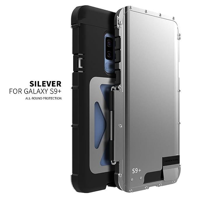 brand new f0928 71bd0 R-just for Samsung Galaxy S9 Plus Case,Luxury Doom Metal Armor Life Dirt  Shockproof Aluminum Cover Case for Samsung Galaxy S9+ Armor King Iron Man  ...
