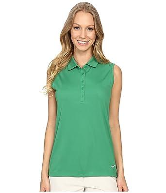 72e68b3fa27a0 Amazon.com  Nike Women s Victory Solid Sleeveless Polo  Clothing