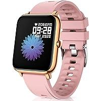 CanMixs Smartwatch Reloj Inteligente Mujer y Hombre, 1.4'' Impermeable IP67 Pulsera Actividad Inteligente con Monitor de…