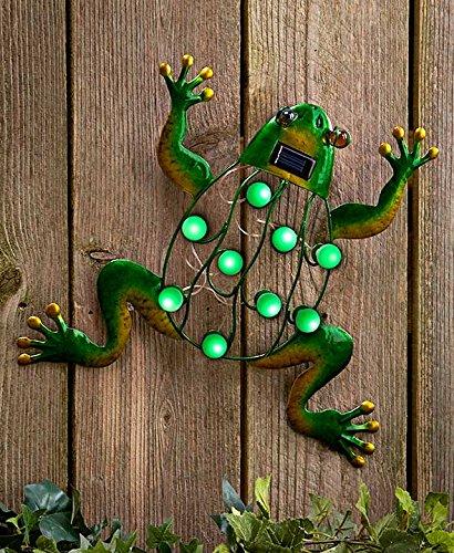 Lakeside Garden (Solar Garden Wall Hangings Frog)