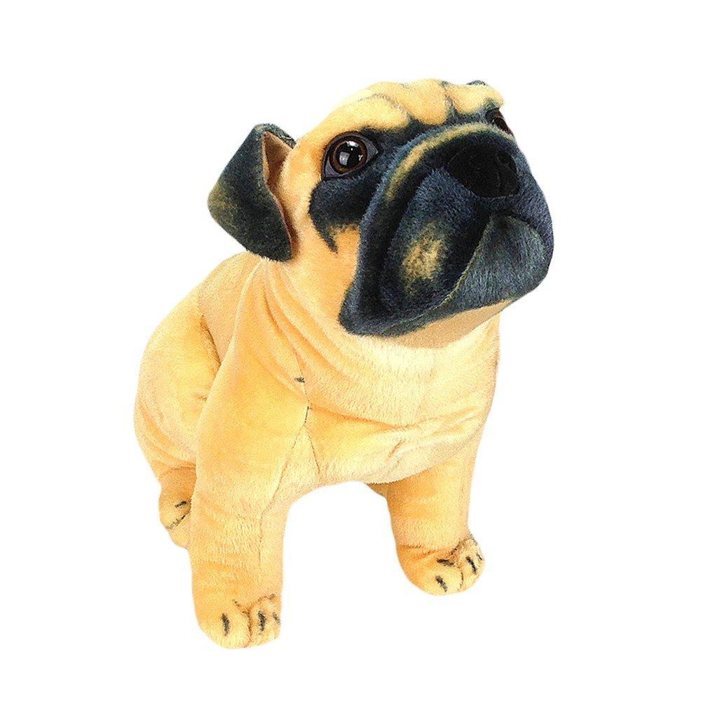 Amazon Com Sealive Cute Animals Pug Dog Lifelike Stuffed Animal