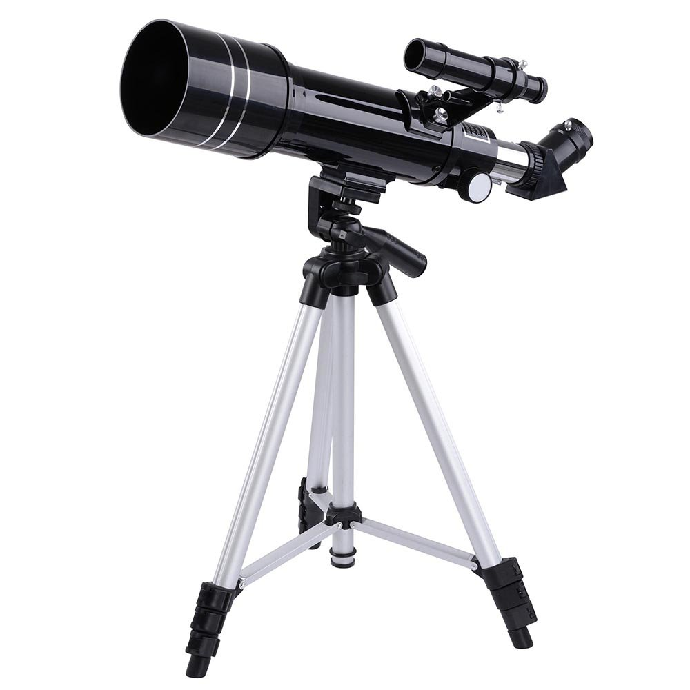 LiangDong 70mm Telescope-Astronomical Refractor Telescope Best for Viewing Lunar and Planetary -2 eyepieces Focal Length400mm US Delivery by Liang Dong