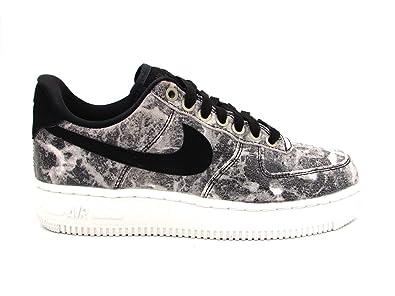 new style e60eb 0f1b0 Nike Unisex Adults Air Force 1  07 Lxx Gymnastics Shoes, Black MTLC Pewter  001, 6 UK  Amazon.co.uk  Shoes   Bags