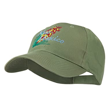cb9127dfea4504 USA State Flower New Mexico Yucca Embroidered Cap - Olive - Green - One  Size: Amazon.co.uk: Clothing