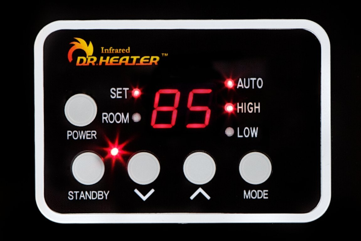 Dr Infrared Heater Portable Space Heater, 1500-Watt by Dr Infrared Heater (Image #6)