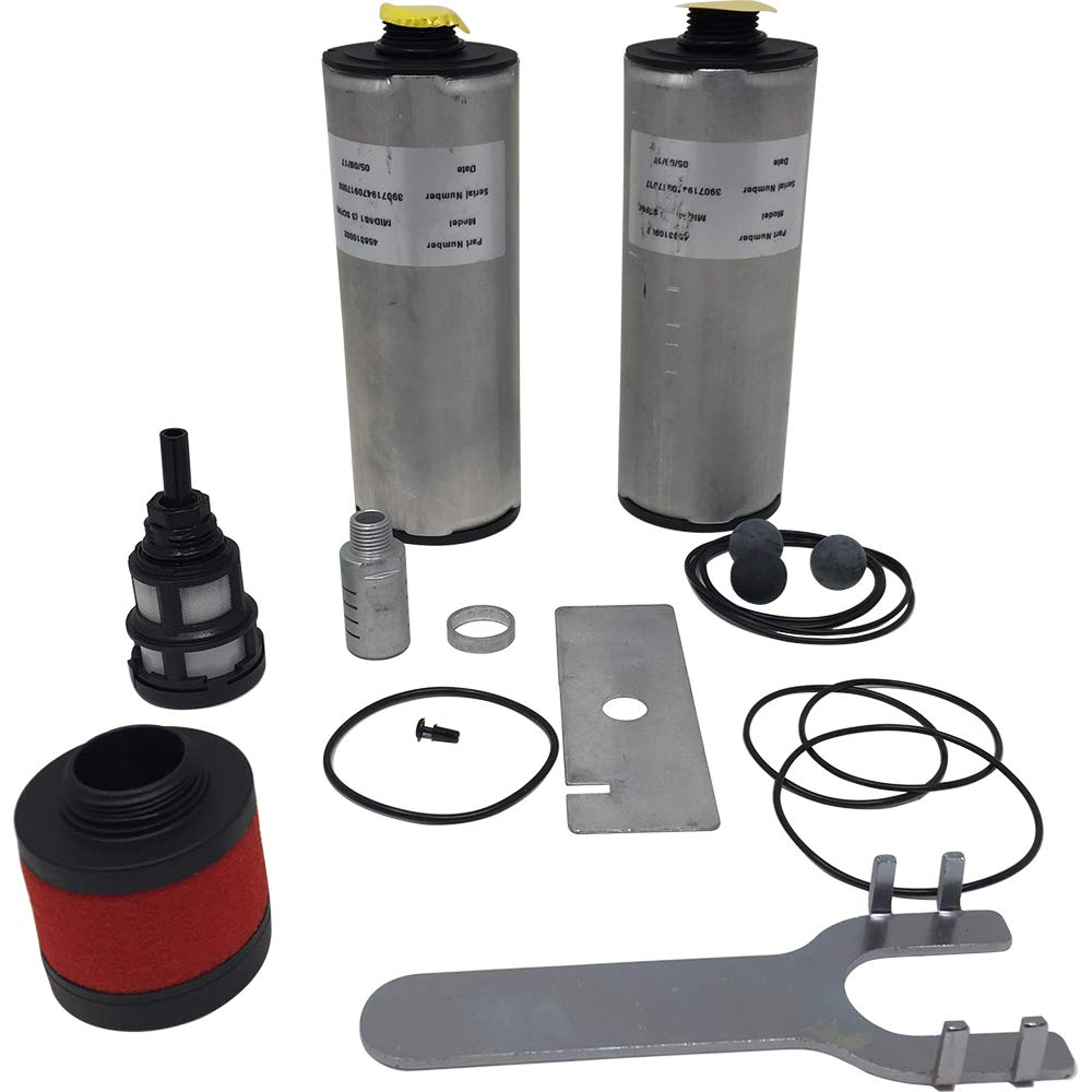 DASMK1 Parts Kit for DAS1 Desiccant Dryer, Parker PNEUDRI MiDAS Maintenance
