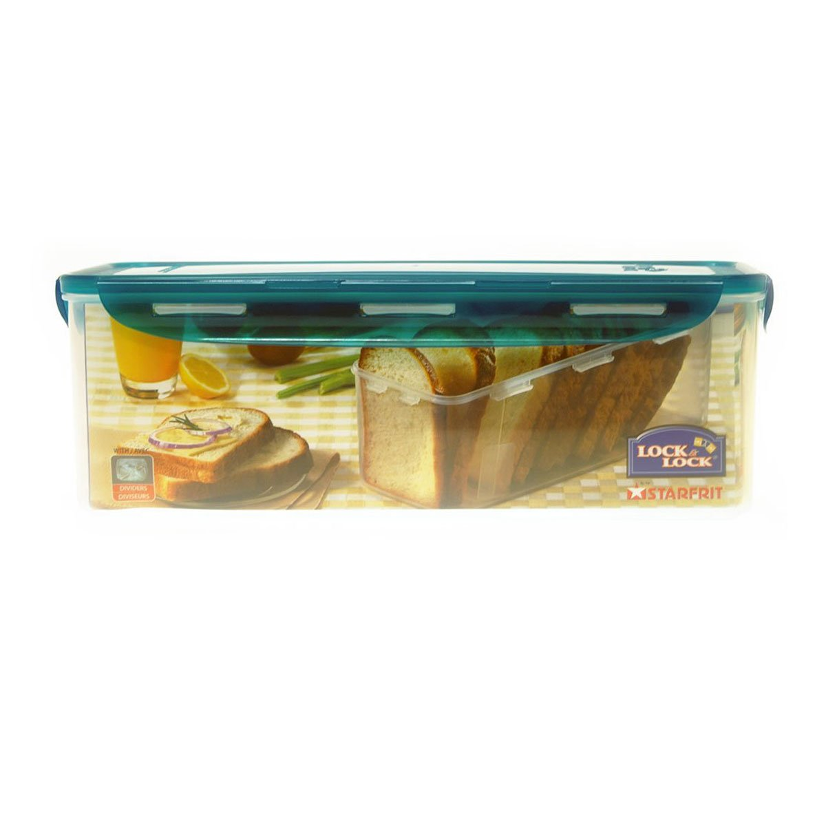 Lock & Lock 5L Bread Container with Divider Lock & Lock by Starfrit 94507
