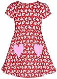 valentines day shark - Unique Baby Girls Valentine's Day Shark Dress (3t)