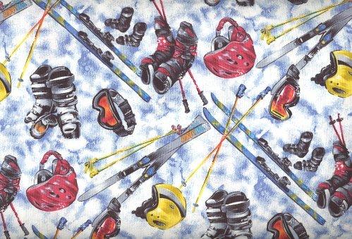 Sports Novelty By RJR Fabrics - 100% Cotton, 44