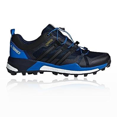 adidas Herren Terrex Skychaser GTX Trekking-& Wanderhalbschuhe, Schwarz (Negbas/Negbas/Carbon 000), 45 1/3 EU