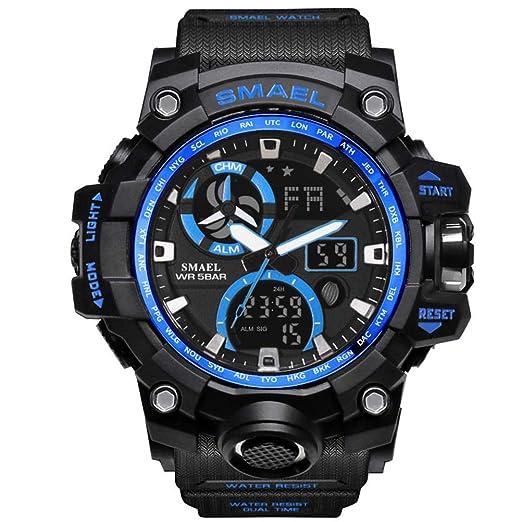 Amazon.com: SMAEL reloj deportivo analógico digital ...