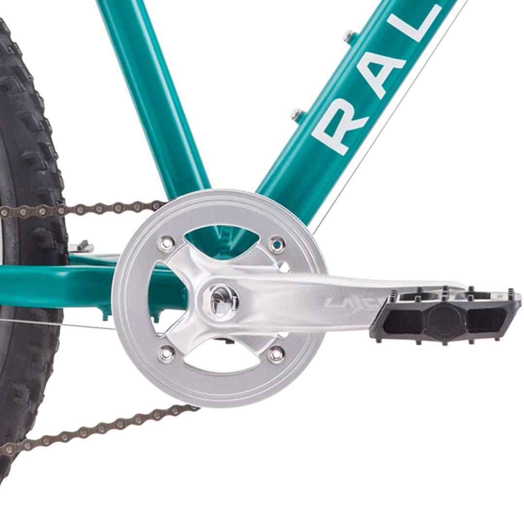 Teal RALEIGH Bikes Eva 24 Kids Hardtail Mountain Bike for Girls Youth 8-12 Years Old