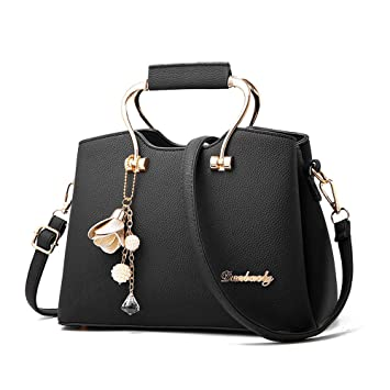 Amazon.com   Vinteen Fashion Ms Big Bag Summer The New Korean Version Lady  Bags Wild Handbag Simple Shoulder Bags Crossbody Bag Tide Pendant Satchel  (Color ... 692b5c170aad6